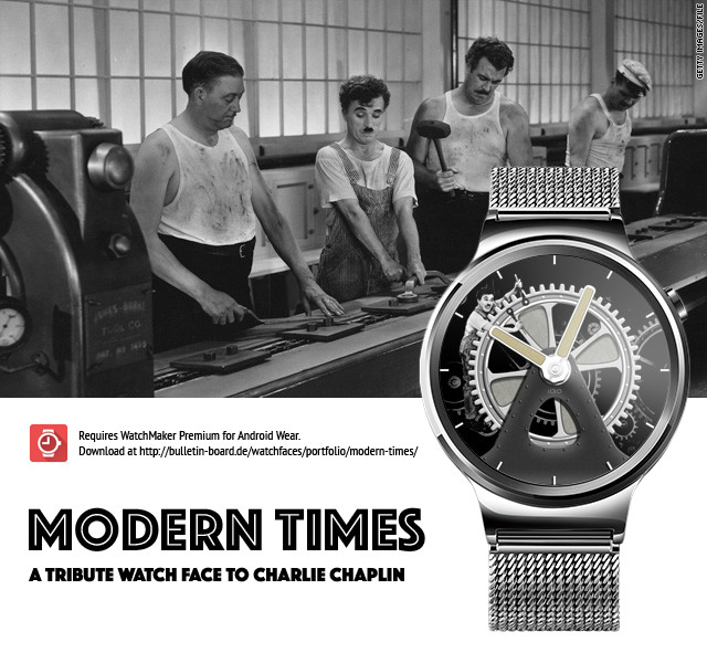 Modern Times Watch Face